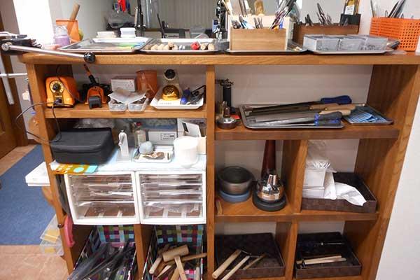貸出工具類 消耗品以外の工具はすべてご自由にお使いいただけます。