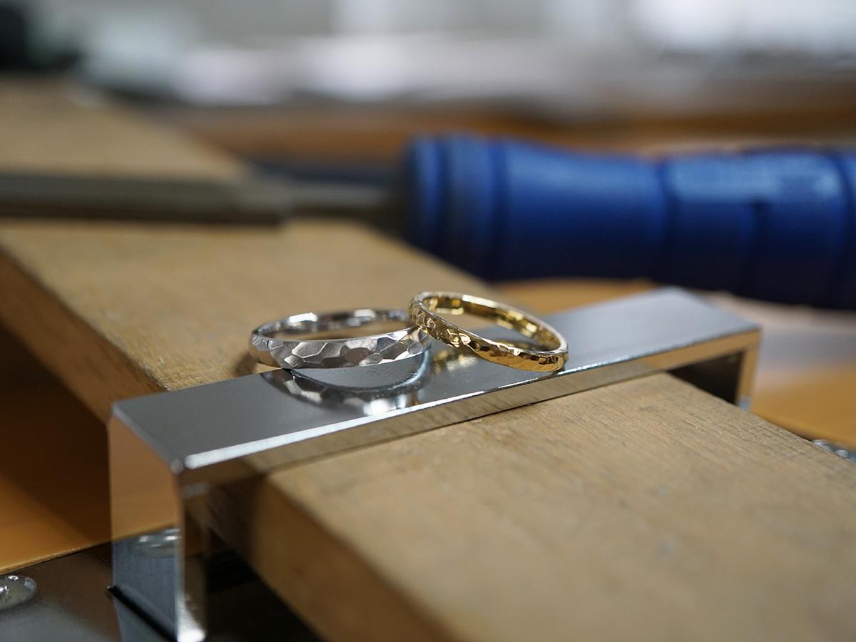 ふたりで作る結婚指輪・婚約指輪