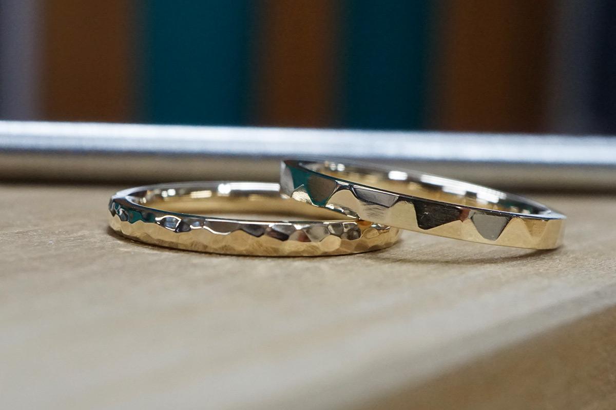 指輪手作り体験(K10イエローゴールド)
